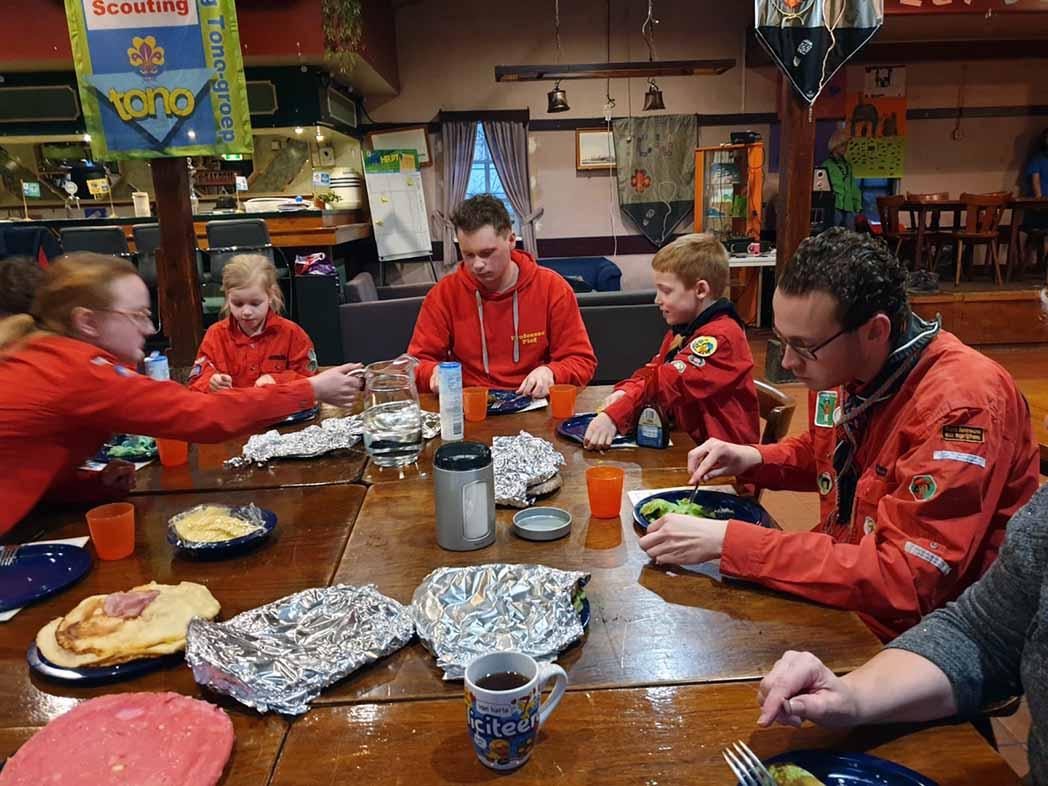 4- tot 7-jarigen bij Scouting in Schiedam